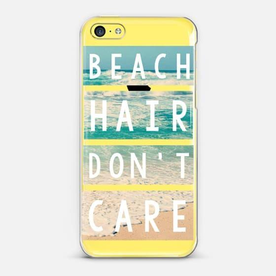 Beach Hair Don't Care Block -