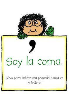 Signos de Puntuación   Punctuation mark in #Spanish #Coma