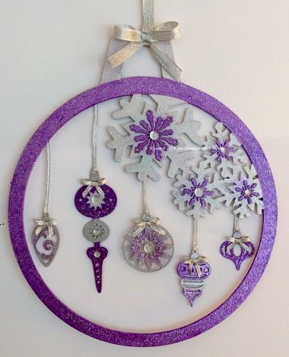 MDF Bauble created by Lisa B for Imagination Crafts. Hochanda ODS Aug 27/28. Starlights, Art-Cutz.