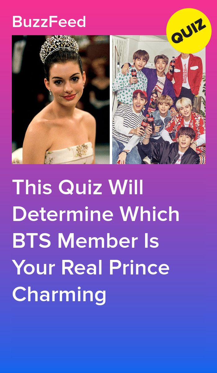 This Quiz Will Determine Which BTS Member Is Your Real Prince