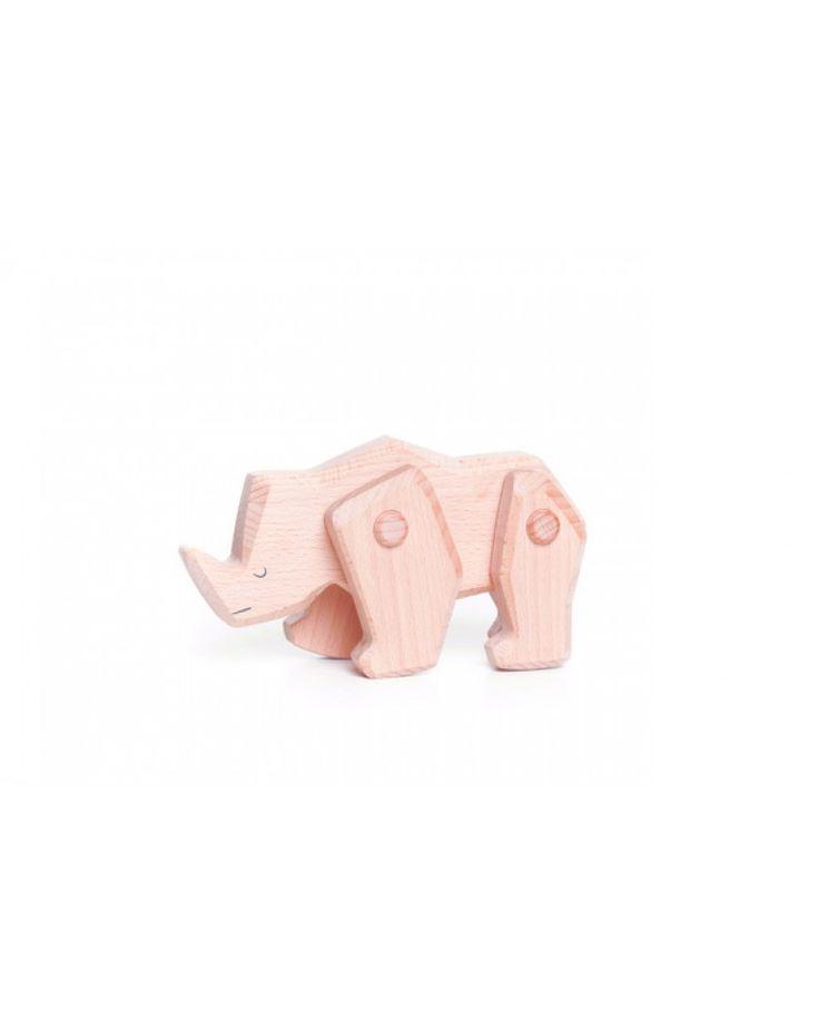 Mit diesem Nashorn aus Holz erleben die Kleinen viele Abenteuer in der Prärie.  https://kiebitzundschneck.de/katalog/weihnachten/bajo-nashorn-aus-holz.html
