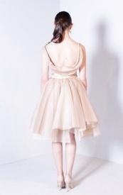 Rosalinda Dress with draped back