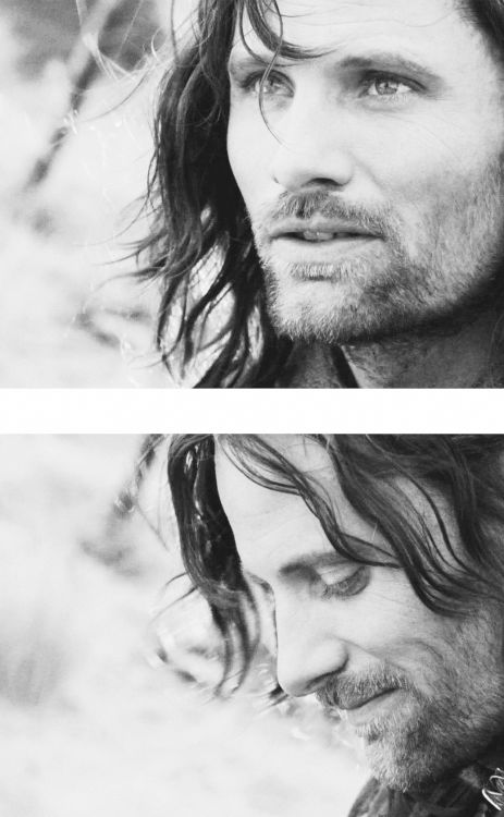 Aragorn, fils d'Arathorn... Le plus beau, le plus modeste, le plus fort et surtout le plus royal ! >>> Pinning for the beautiful French comment.