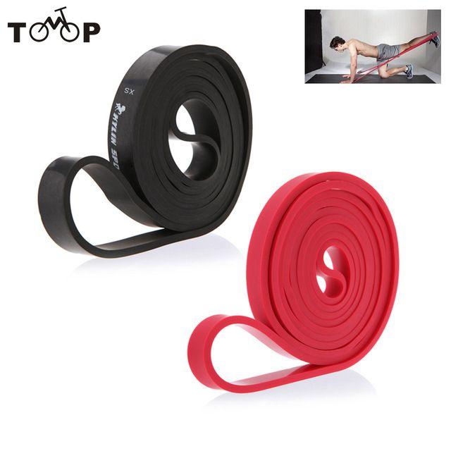 208 см Натуральный Латекс Pull Up Врач Диапазоны Сопротивления Фитнес CrossFit Loop Bodybulding Йога Упражнения Фитнес-Оборудование