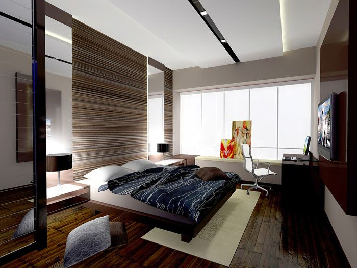 Modern design with good use of sunlight