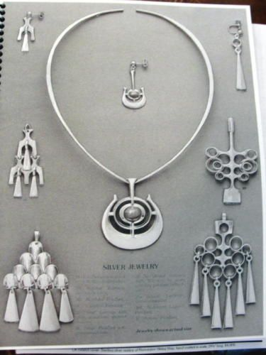 039-THE-039-CATALOG-OF-NORWEGIAN-JEWELRY-w-PRICE-LIST-c1960-1970-039-s-TONE-VIGELAND-D-A