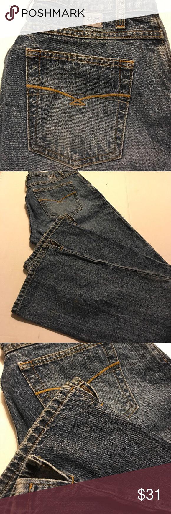 CRUEL GIRL JEANS•LOW RISE SLIM, SIZE 7 EXTRA LONG Original Cruel Girl.  EXTRA LONG LENGTH. Style no. CB51253001 Cruel Girl Jeans Boot Cut