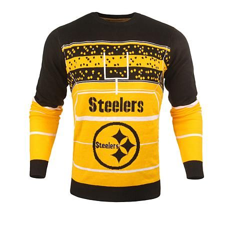 Officially Licensed NFL Stadium Light-Up Ugly Sweater  by Forever Collectibles - Steelers | HSN