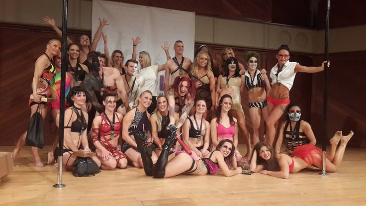 Group shot of all participants at #ThePoleFactor 2016