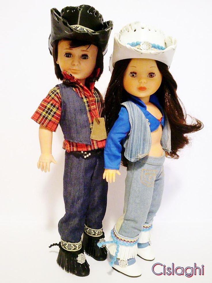 Modelos Indiana y Madonna