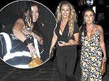 They were locked in a bitter ten year feud.Yet all appeared to be forgotten with Jessie Wallace and her My Big Fat Gypsy Wedding star sister Danielle Mason as they headed out on Sunday night to attend EastEnders starChucky Venn's birthday party in Camden.