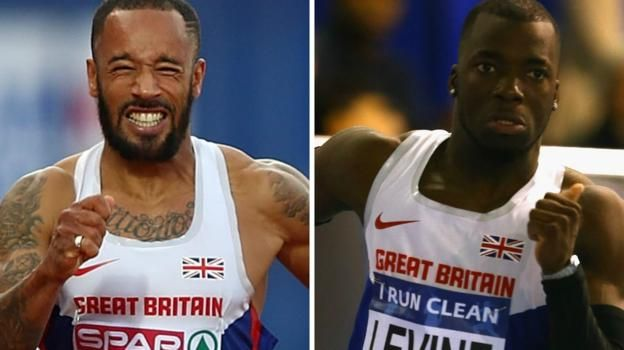 James Ellington & Nigel Levine: British sprinters 'truly blessed' to be alive - BBC Sport