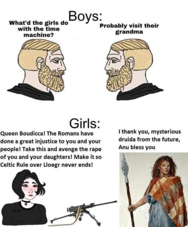 Good Ending For The Celts Soyjaks Vs Chads In 2021 Memes Boy Meme History Memes