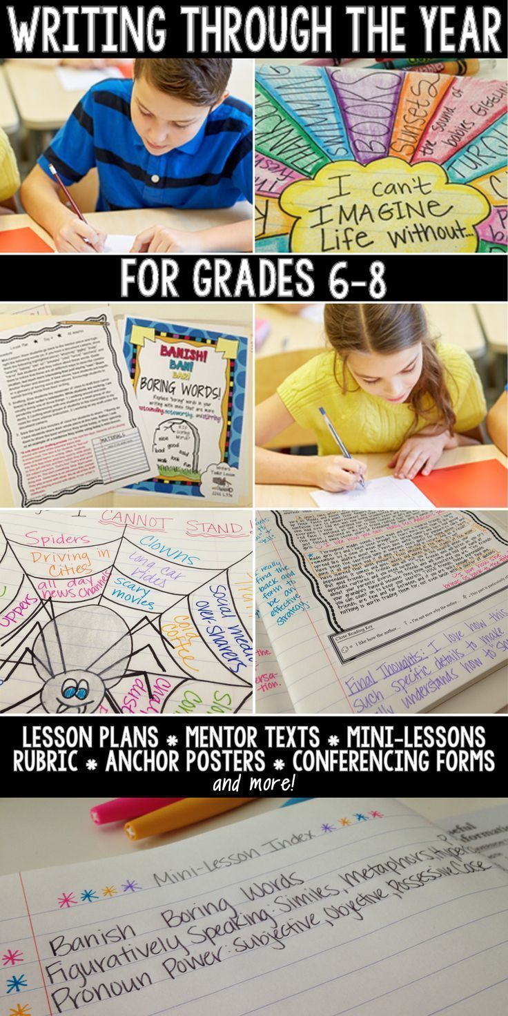 Love this for teaching middle school writing!!