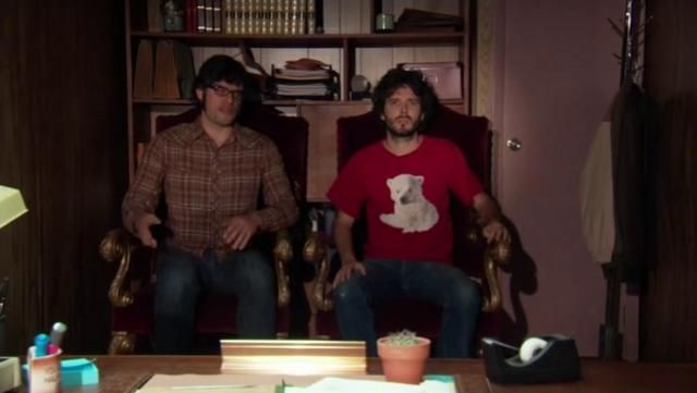 Because Flight of the Concords.  Flight of the Conchords - Hurt Feelings - HD