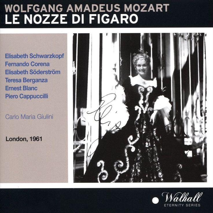 Philharmonia Chorus - Wolfgang Amadeus Mozart: Le Nozze di Figaro (London, 1961) (CD)
