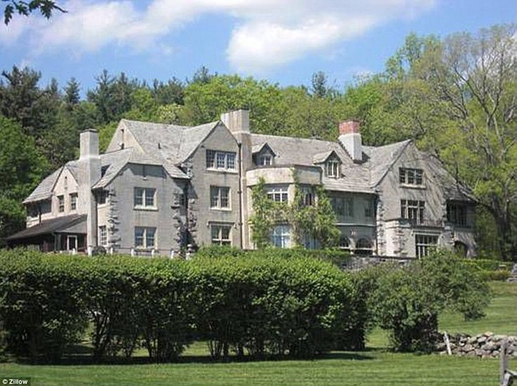 Historic: Anderson Cooper and his boyfriend, Benjamin Maisani, are the proud new owners of this 1908 estate in the affluent Connecticut coun...