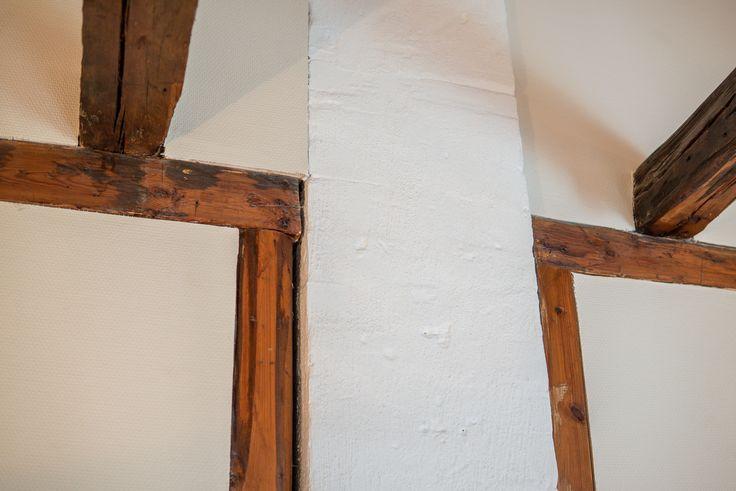 Detaljer i tak och väggar