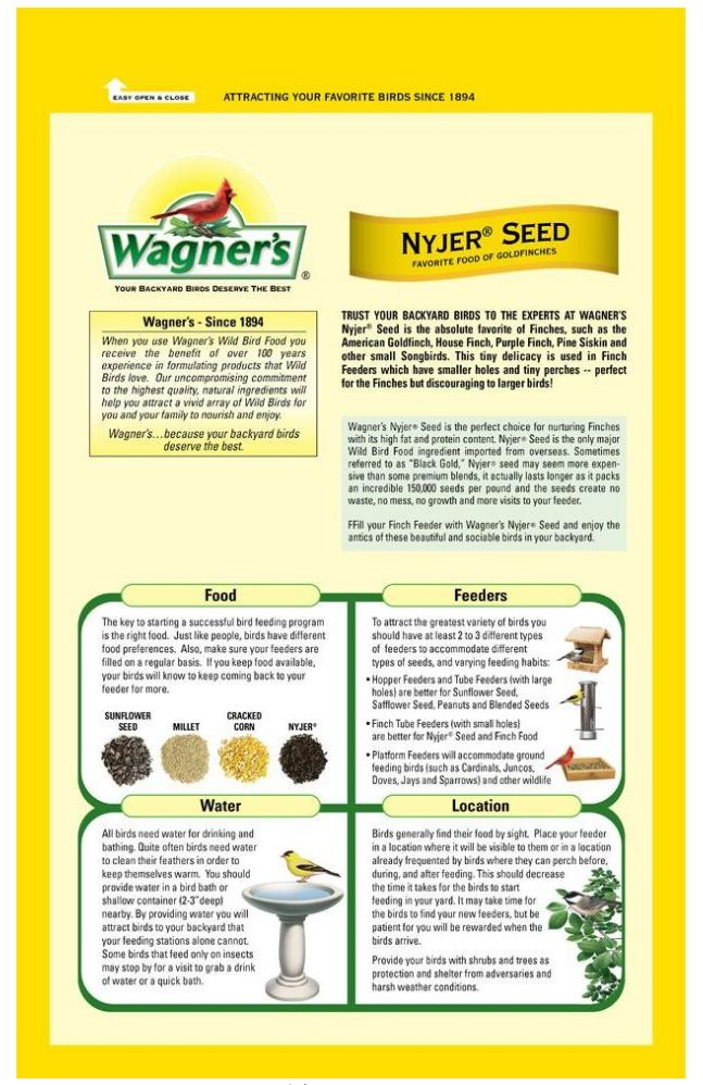 Bird Food Niger Seed