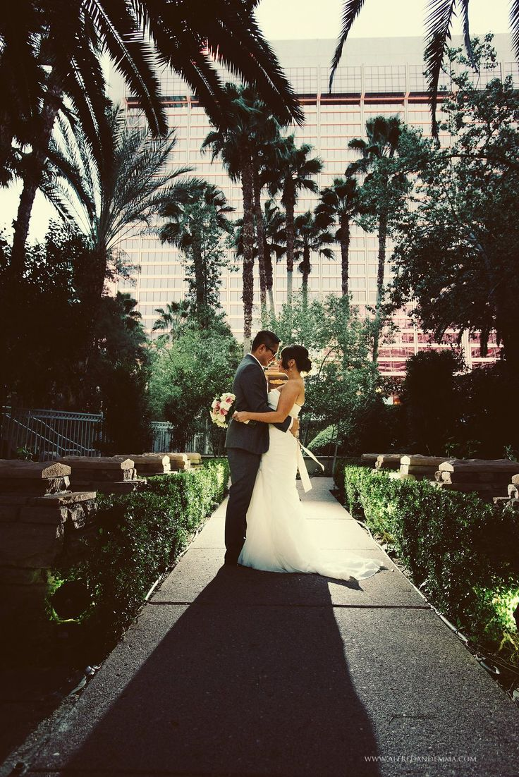 Flamingo Las Vegas Wedding | Little Vegas Wedding