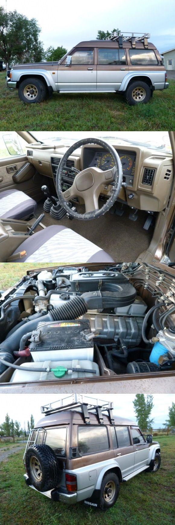 1988 Nissan Safari 4×4