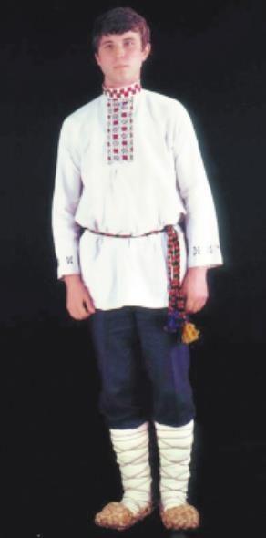 Описание мордовского мужского костюма