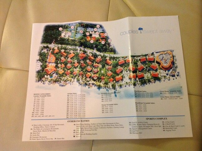 Couples Swept Away Resort Map Negril Jamaica: Map Of Couples Resorts In Jamaica At Infoasik.co