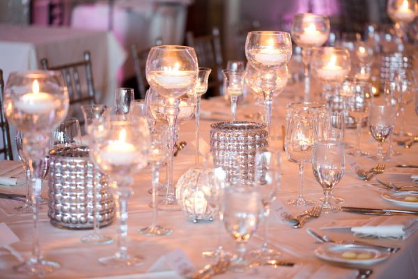 Mercury Glass and Candles   photography by http://www.amyandjordan.com/