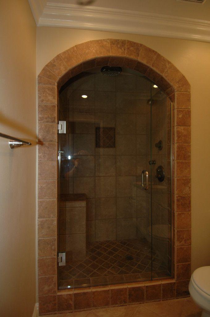 Gorgeous custom shower doors cool custom for Custom showers for small bathrooms