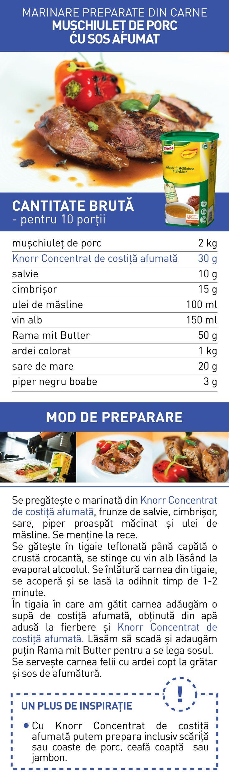 Marinare preparate din carne (III) - RETETE