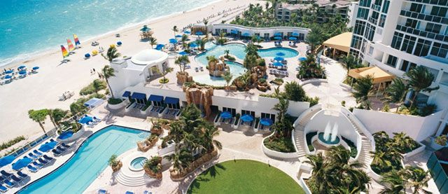 Trump International  Beach Resort. This could be the place to go for Merry's departure!!