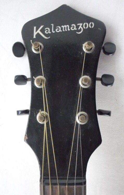 Vintage Kalamazoo   KG-12 Headstock