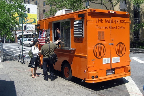 #19. The Mud Coffee Truck at Astor Place.
