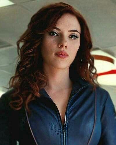 Scarlett johansson red hair