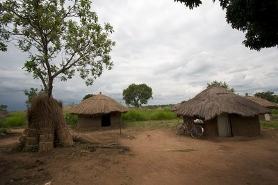 Gulu, Uganda. This place has a very interesting history. These huts are most likely from an Internally Displaced Persons (IDP) camp due to the civil war.