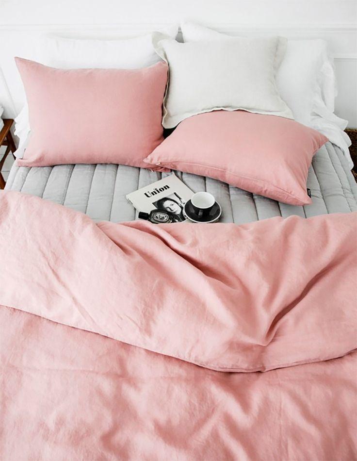 quarto, rosa, branco.
