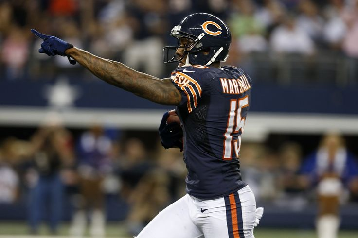 Brandon Marshall has shown all kinds of heart for the Chicago Bears the past three weeks, but the time has come for him to take a seat.