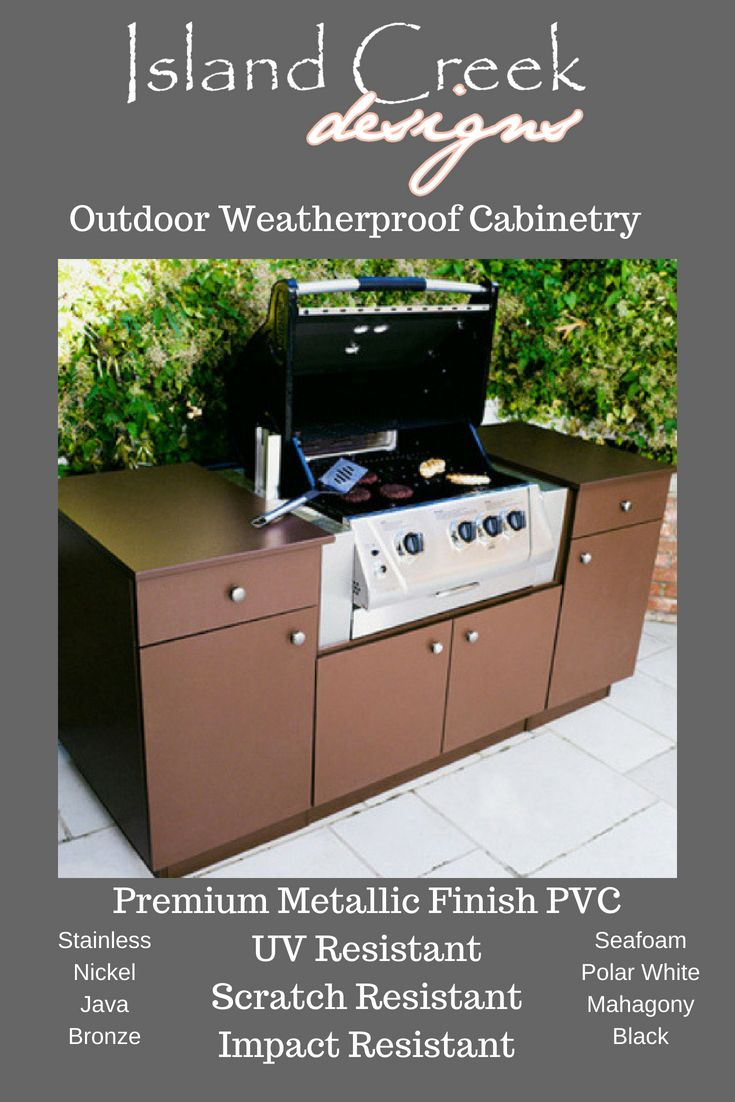 Pin On Outdoor Kitchens Cabinetry
