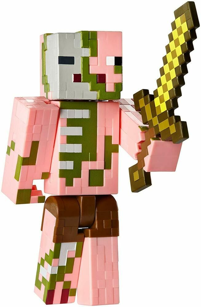 Minecraft Series 2 Zombie Pigman with Sword Action Figure