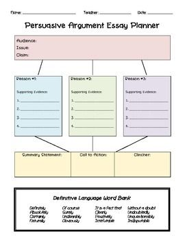 best opinion essay structure ideas persuasive this is a great graphic organizer and planner for students learning the structure and components of