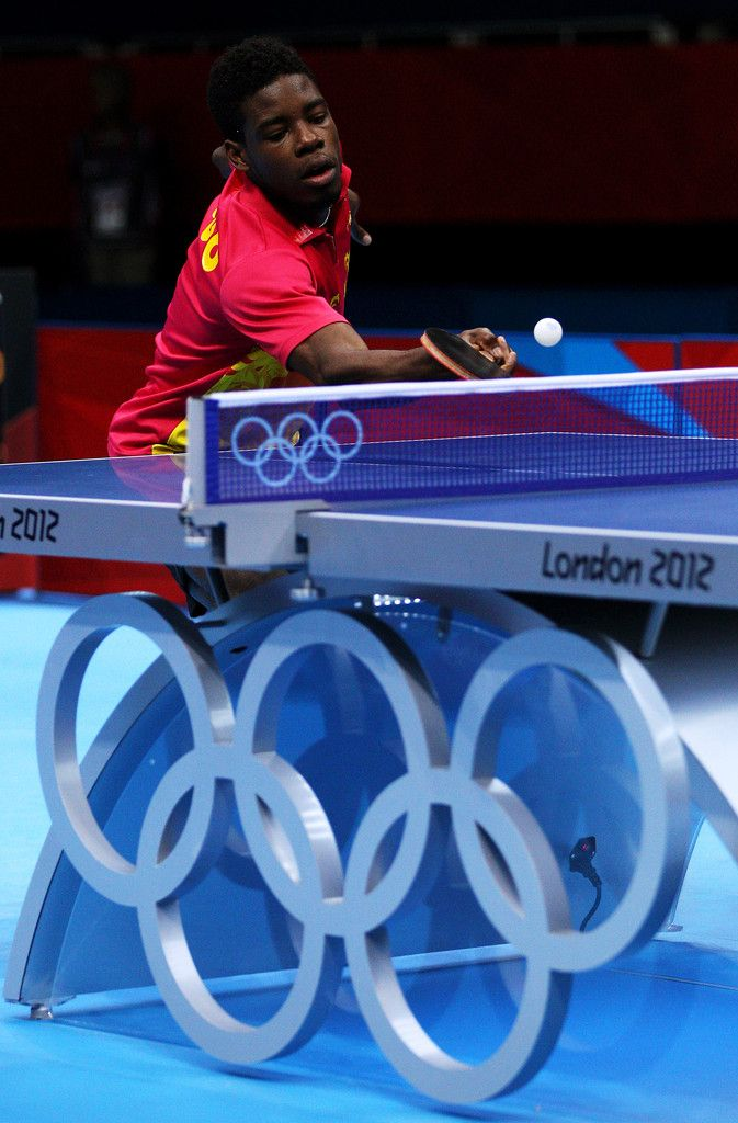 Day 1:  Table Tennis-Men's Singles - Mawussi Agbetoglo of Togo