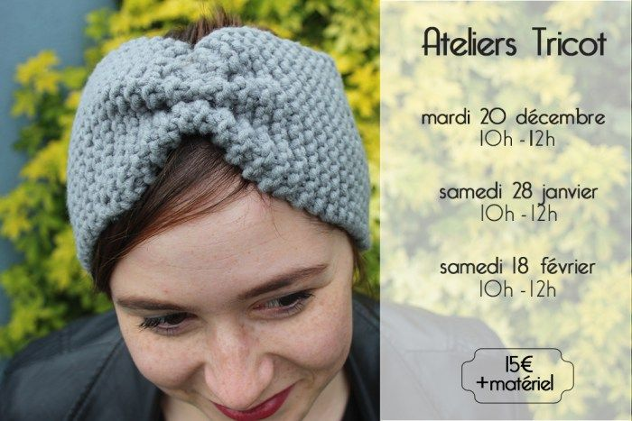 Atelier tricot Head band