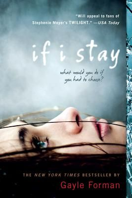 If I Stay by Gayle Forman - An incredibly heartbreaking and moving book. The film adaptation will be out in august I hope it can do it justice.