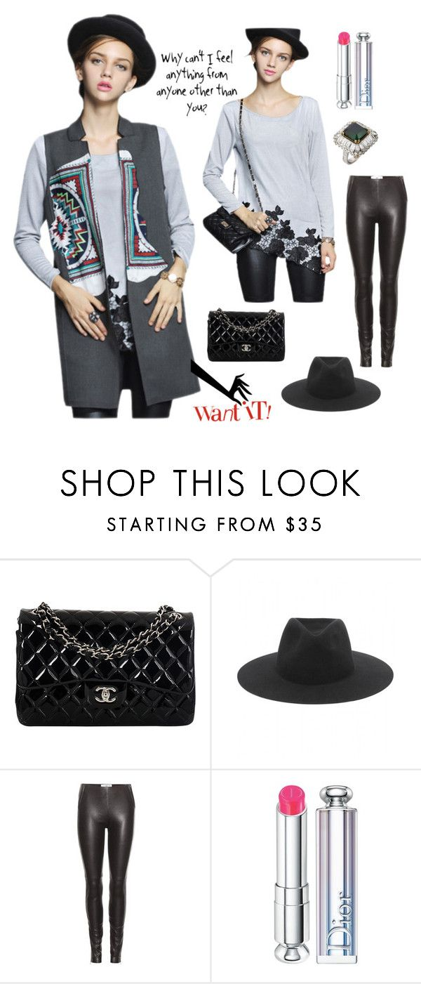 """""""City Chic Style"""" by stargazerfashion on Polyvore featuring Chanel, rag & bone, Maison Margiela, Christian Dior, Alexander McQueen, modern, women's clothing, women, female and woman"""