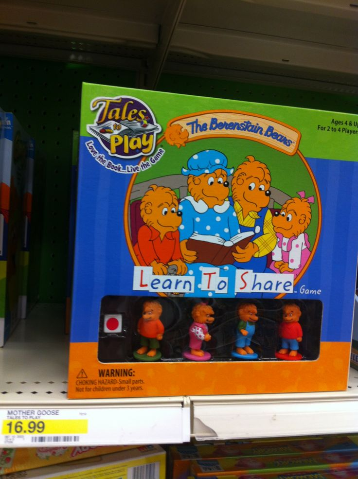 Characters: The Berenstain Bears | Family | BoardGameGeek