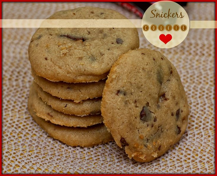 Snickers Peanut Butter Cookie