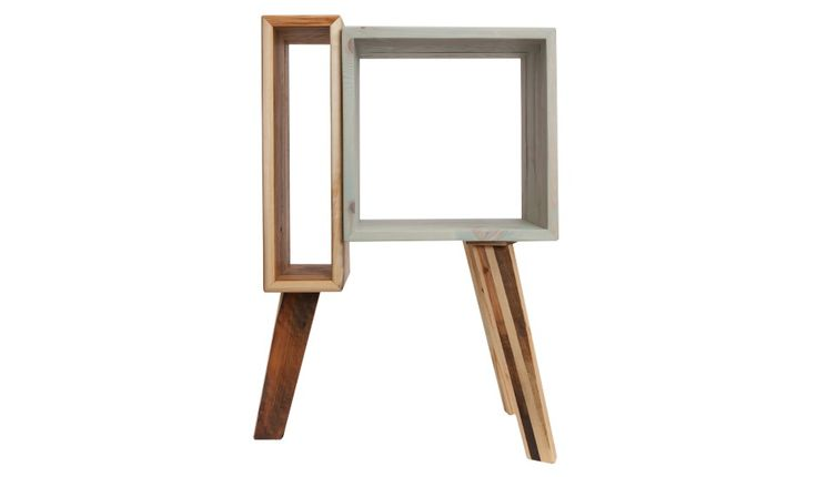 monoqi kleines sideboard gr n natur yes i love. Black Bedroom Furniture Sets. Home Design Ideas