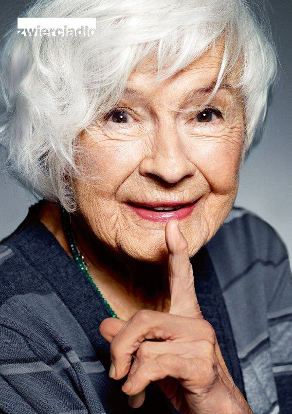 Danuta Szaflarska, age 100, and as beautiful as the day she was born!                                                                                                                                                                                 More