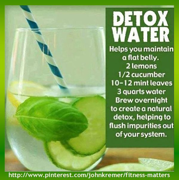 Even recipes can be presented as infographics. For example, here's a recipe for Detox Water, presented as a recipe infographic. Detox water helps you maintain a flat belly. #detox #water #Fitness Matters