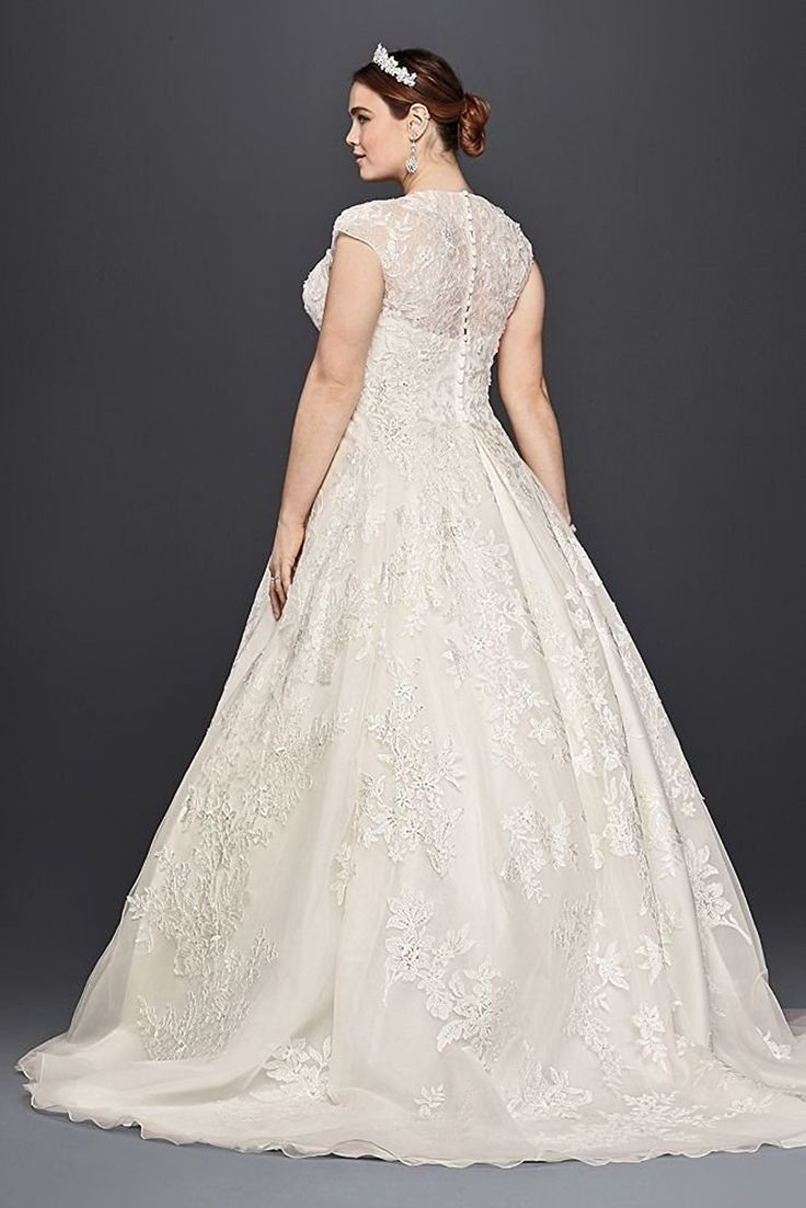 The 567 best Plus Size Wedding Dresses images on Pinterest | Wedding ...